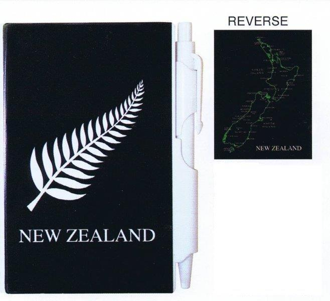 PK-35121 - Notebook Small with Pen Fern - New Zealand Gifts & Souvenirs