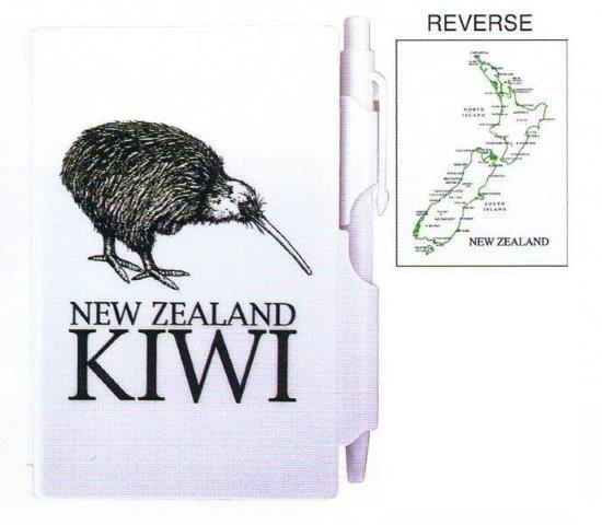 PK-35122 - Notebook Small with Pen NZ Kiwi - New Zealand Gifts & Souvenirs