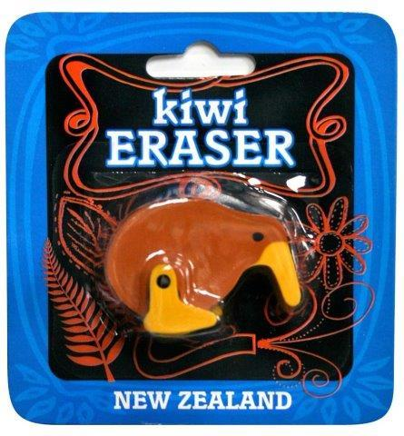 PK-35140 - Stationary Kiwi Eraser - New Zealand Gifts & Souvenirs