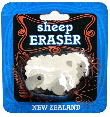 PK-35141 - Stationary Sheep Eraser - New Zealand Gifts & Souvenirs