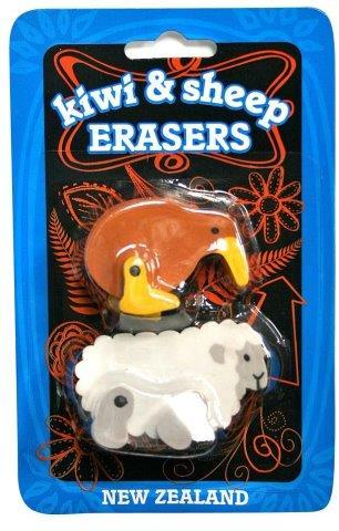 PK-35142 - Stationary Kiwi Sheep Eraser - New Zealand Gifts & Souvenirs