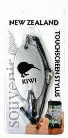 PK-40102 - Touch Stylus Silver Kiwi - New Zealand Gifts & Souvenirs