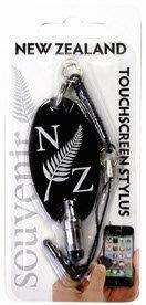 PK-40105 - Touch Stylus Black Fern - New Zealand Gifts & Souvenirs