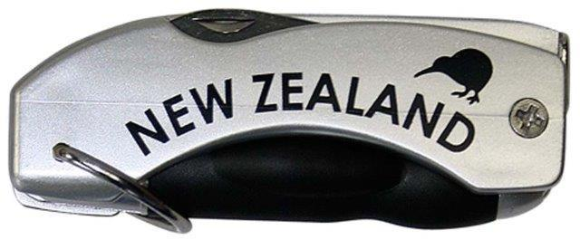 PK-40110 - Pens Multi Function Pen Silver - New Zealand Gifts & Souvenirs