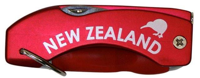 PK-40111 - Pens Multi Function Pen Red - New Zealand Gifts & Souvenirs
