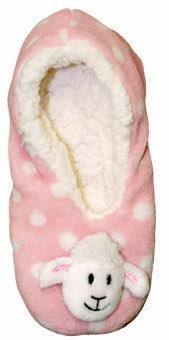 PK-55122 - Slippers Sheep Pink LXL - New Zealand Gifts & Souvenirs