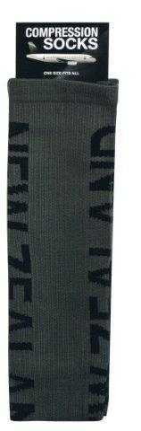 PK-55288 - Socks Compression Socks New Zealand Grey - New Zealand Gifts & Souvenirs