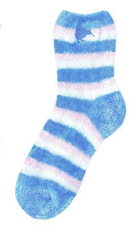 PK-55293 - Socks Feather Socks Stripe Blue - New Zealand Gifts & Souvenirs