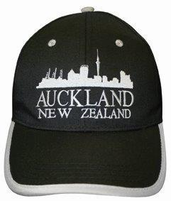 PK-60374 - Headwear-Caps-Auckland-Black - New Zealand Gifts & Souvenirs