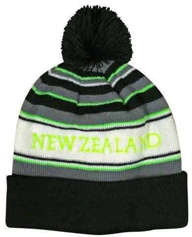 PK-60521 - Pompom Hat Fluoro Green - New Zealand Gifts & Souvenirs