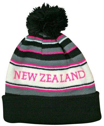 PK-60522 - Pompom Hat Fluoro Pink - New Zealand Gifts & Souvenirs