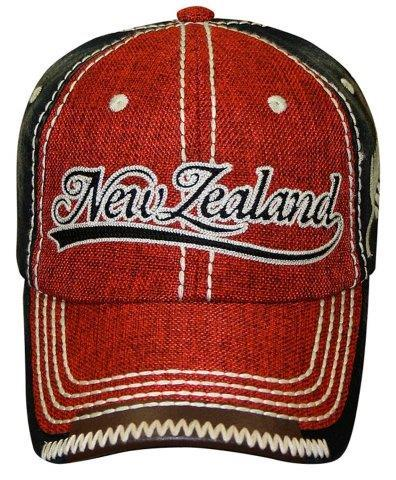 PK-60535 - Headwear Hopsack Red - New Zealand Gifts & Souvenirs
