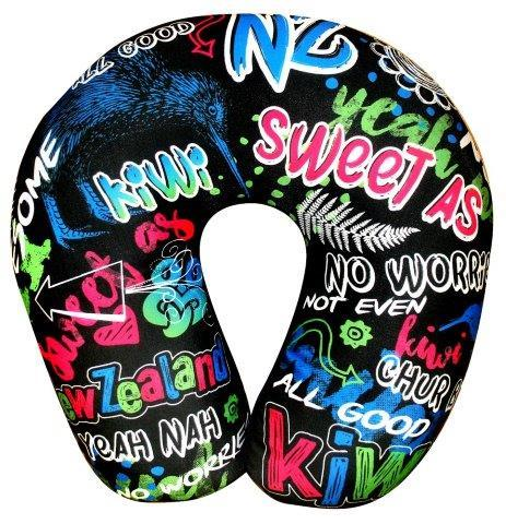 PK-60603 - Headwear Neck Pillow Graffitti - New Zealand Gifts & Souvenirs