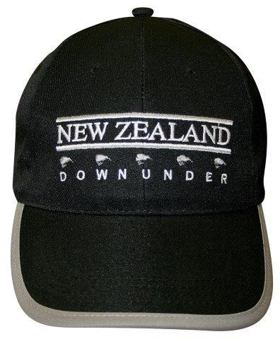 PK-60633 - Headwear NZ Downunder Black Grey - New Zealand Gifts & Souvenirs