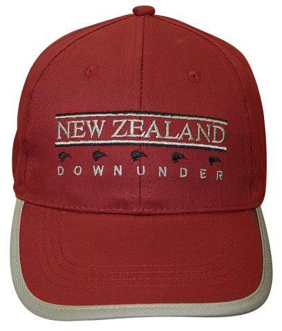 PK-60634 - Headwear NZ Downunder Wine Grey - New Zealand Gifts & Souvenirs