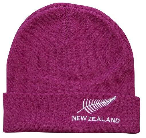 PK-60761 - Headwear Supersoft Beanie Magenta - New Zealand Gifts & Souvenirs