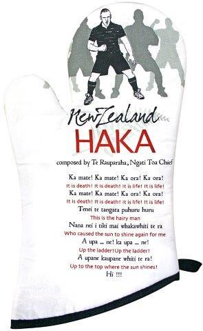 PK-65168 - Oven Mitt Haka - New Zealand Gifts & Souvenirs