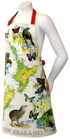 PK-65206 - Manchester Designer Apron Map - New Zealand Gifts & Souvenirs