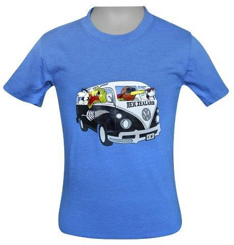 PK-70361 - Kids T-Shirt - VW Team Blue - New Zealand Gifts & Souvenirs