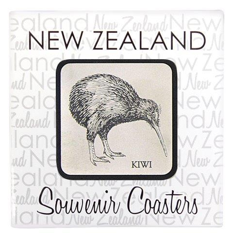 PK-80508 - Novelty Coasters Lazer Etched Birds - New Zealand Gifts & Souvenirs