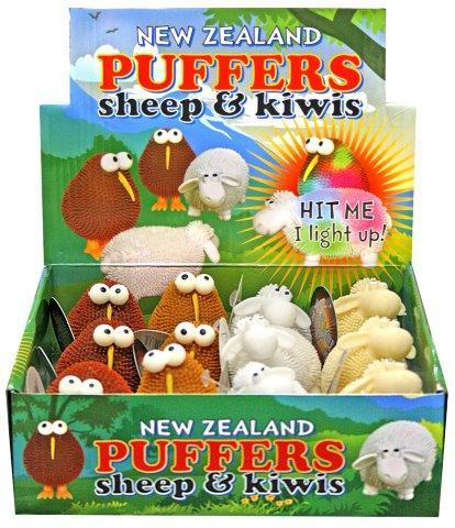 PK-80593 - Light Up Puffer Kiwi - New Zealand Gifts & Souvenirs