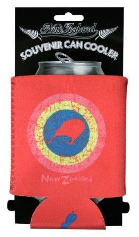 PK-82252 - Stubby Holder Airforce Logo Pink - New Zealand Gifts & Souvenirs