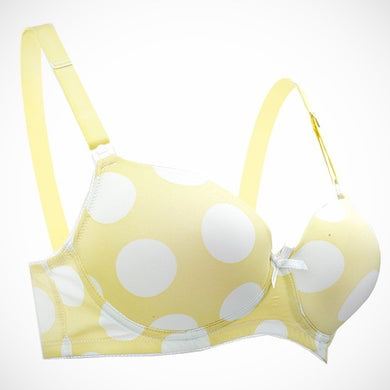 Autumnz - FAITH Nursing Bra (Yellow Polka)