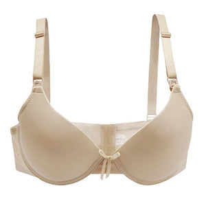 PrettyMums - Elegant Molded Cup Nursing Bra (Removable Underwire)