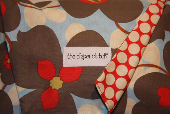 The Diaper Clutch - Morning Glory
