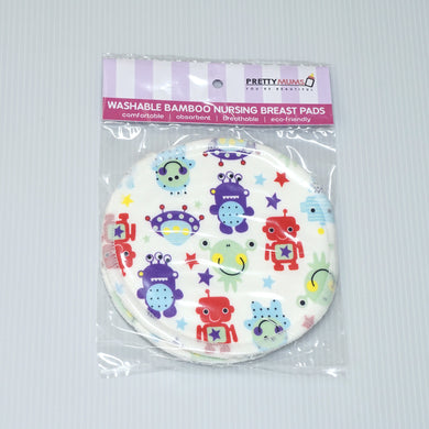 PrettyMums - Washable Bamboo Nursing Pads (33 Designs)