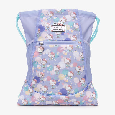 Jujube - Grab and Go Drawstring Backpack - Kimono Kitty (Hello Kitty Collection)