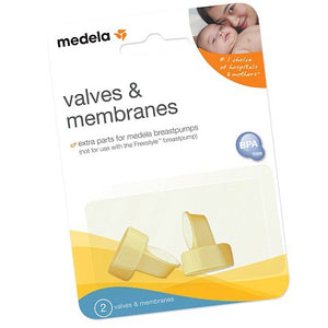 Medela - Yellow Valve & White Membrane Set (1 Pair)