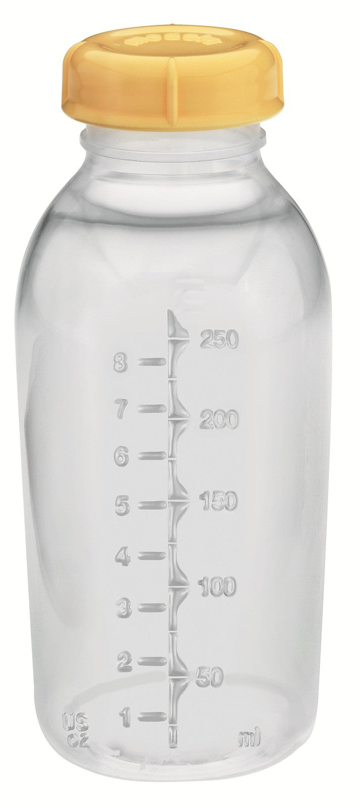 Medela - Storage 8oz Bottle & 1-Part Lid