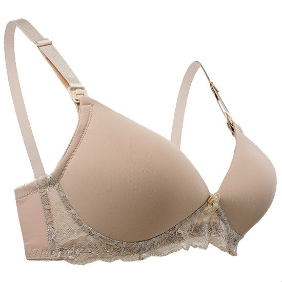 Autumnz - MYSTIQUE Moulded Non-Wired Nursing Bra (Nude)