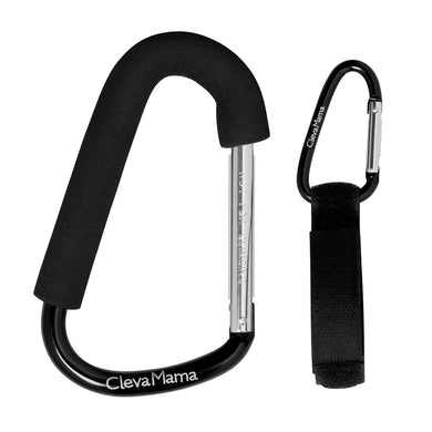 ClevaMama | ClevaHooks - 2 Pack Stroller Hooks