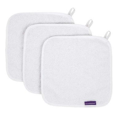 ClevaMama | Bamboo Baby Washcloth (3PK) (4 Colours)