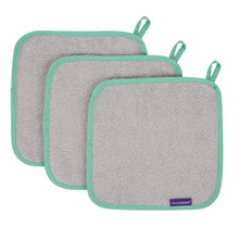 Load image into Gallery viewer, ClevaMama | Bamboo Baby Washcloth (3PK) (4 Colours)