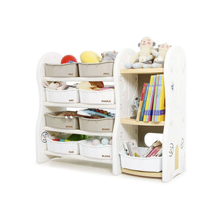 Design Toy Organizer + BookShelf (Extended)