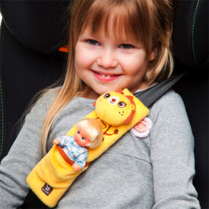 Benbat Travel Friends - Seat Belt Pals for 4-8 Years (Beaver)