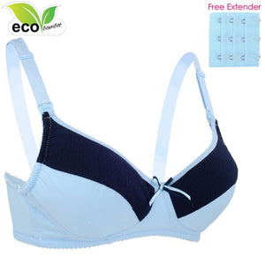 Autumnz - ELLIE Padded Nursing/Maternity Comfort Bra (Blue)