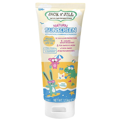 Jack N' Jill | Soothing Chamomile Calendula Natural Sunscreen