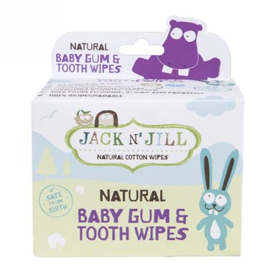 Jack N' Jill | Natural Baby Gum & Tooth Wipe (25pcs)