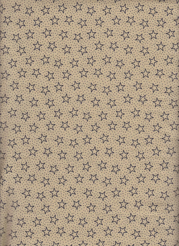 Made in USA Battleground Stars Navy fabric
