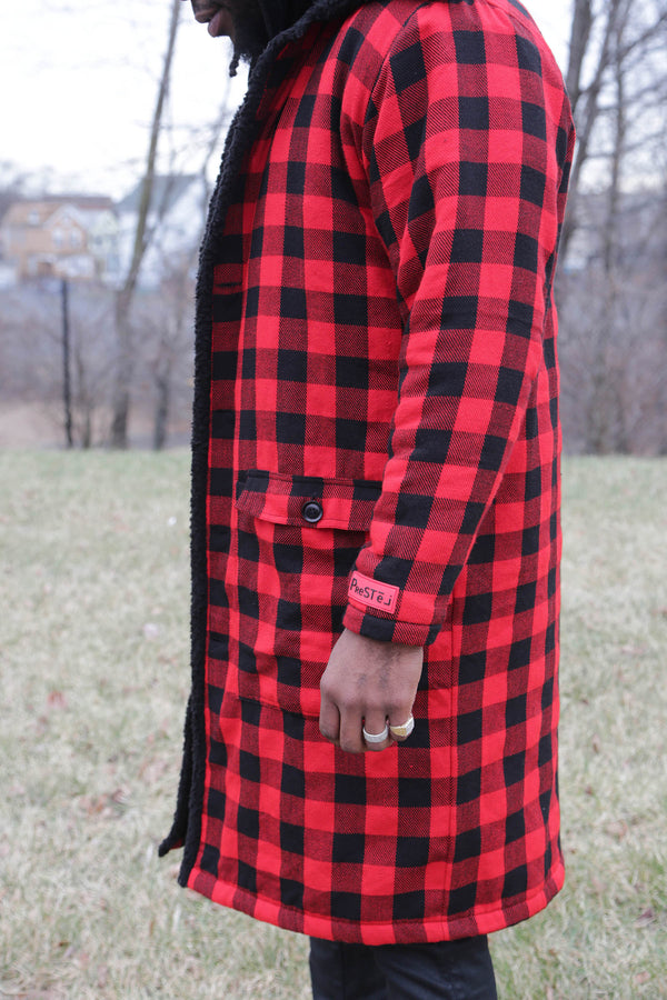 """Lumberjack is Back"" Long Coat (Unisex)"