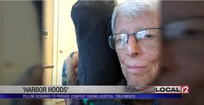 Local 12 WKRC 'Harbor Hoods' pillow created to provide comfort during hospital treatments