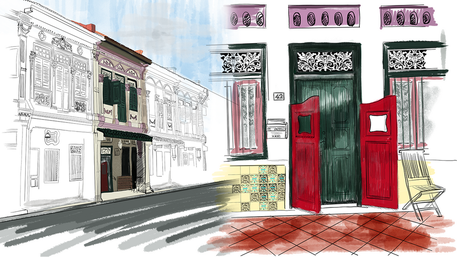 Exploring Peranakan Architecture: Singapore's Historical Looking Glass
