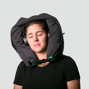 The Commuter Neck Pillow Hood by Harbor Hood