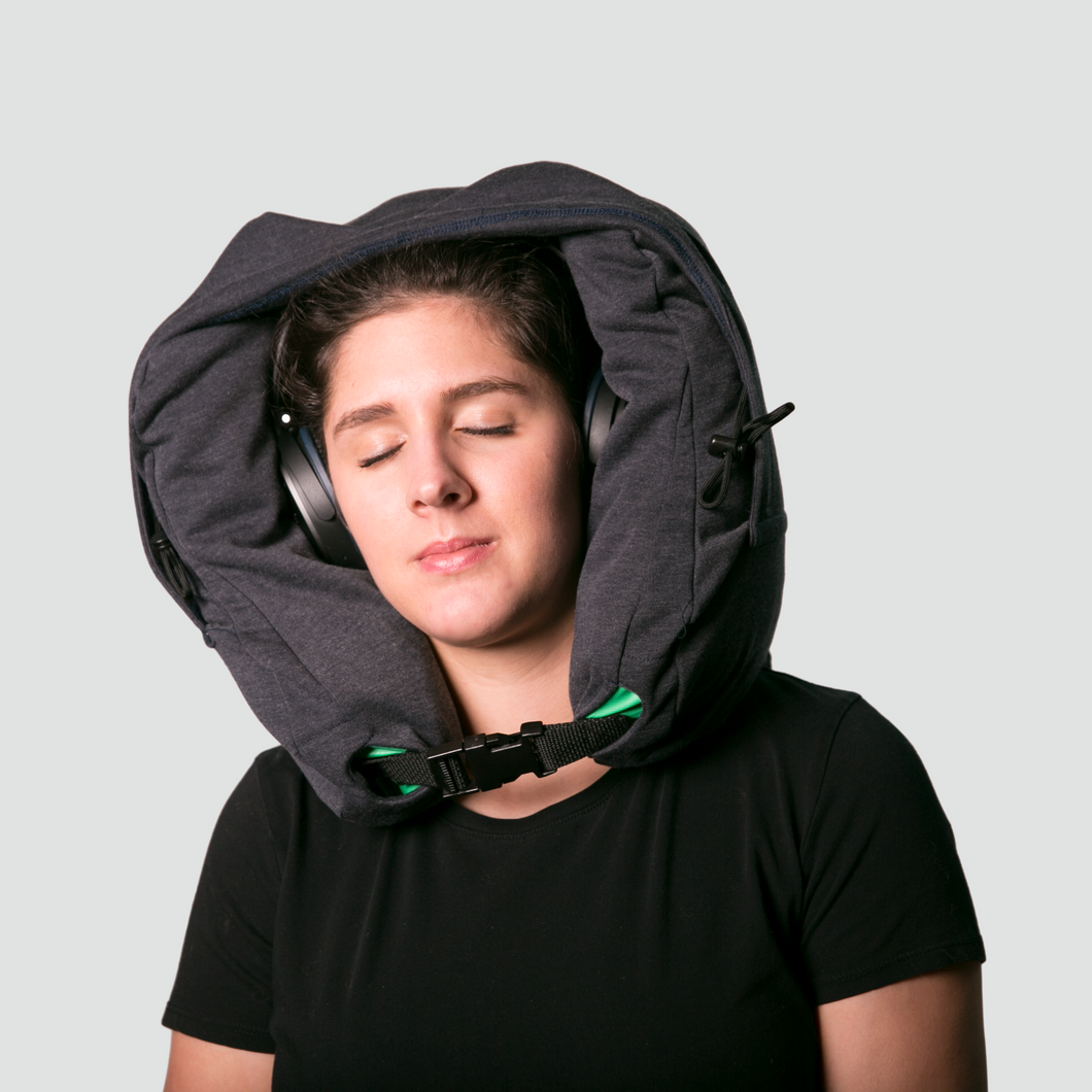 Neck Pillow Hood with Travel Bag