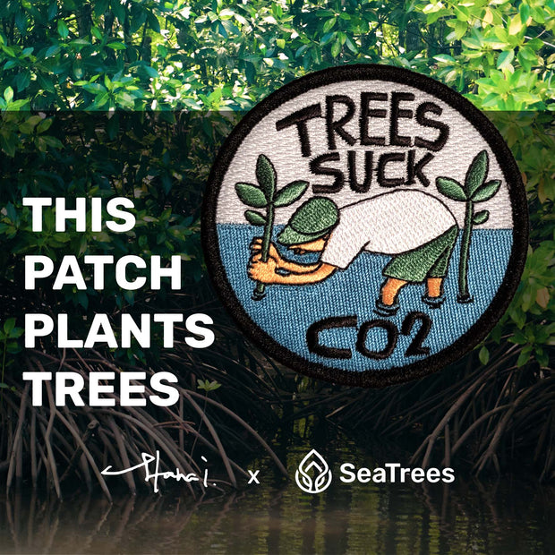 Yusuke Hanai - SeaTrees Suck CO2 Patch