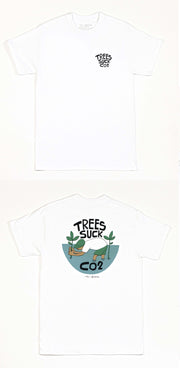 Yusuke Hanai - SeaTrees Suck CO2 T-shirt (made-to-order)